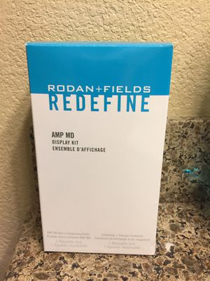 Rodan and Fields Redefine AMP MD Micro-Exfoliating Roller with Container for Sale in Las Vegas, NV