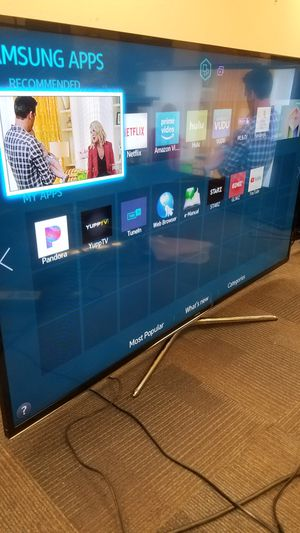 """50""""Samsung Led Smart TV wi-fi HD 1080p clear motion 120hz model is UN50F6350 for Sale in San Jose, CA"""