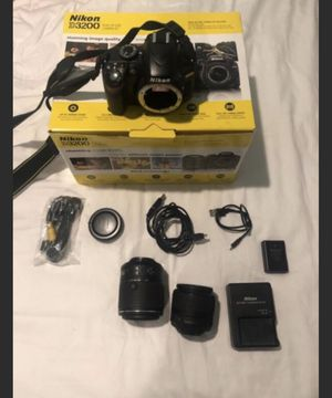 Nikon D3200 excellent condition for Sale in Queens, NY