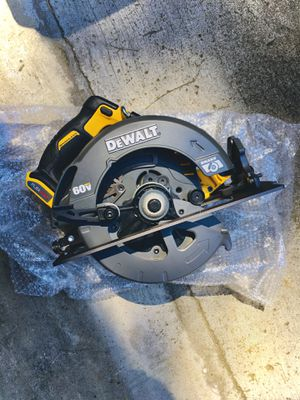 "New DeWalt FLEXVOLT Second Generation 7-1/4"" Circular Saw (Tool Only) for Sale in Modesto, CA"