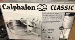 Calphalon Classic Stainless Steel 3QT Sauté Pan for Sale in Garden City, NY