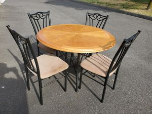 Kitchen table 4 chairs for Sale in Egg Harbor City, NJ
