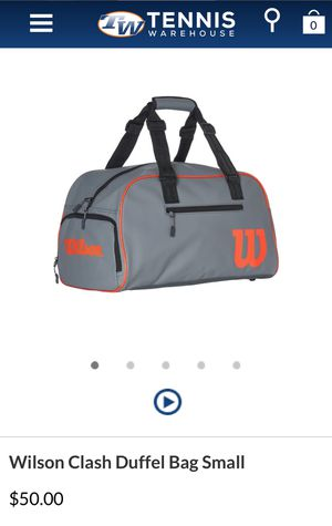 Wilson Clash Duffle Bag Small Tennis Bag BRAND NEW for Sale in Westminster, CA