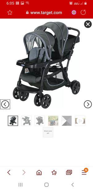 Graco Ready2Grow LX Double Stroller for Sale in Darien, IL