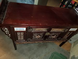 Antique China Cabinet/Hutch for Sale in Fresno, CA