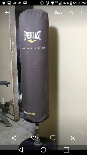 Everlast punching bag for Sale in Brookland, AR