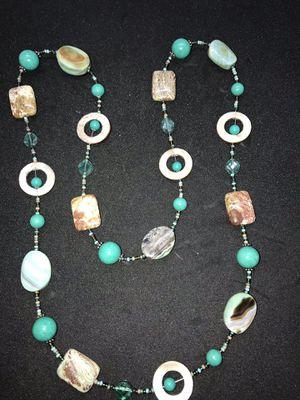 Beautiful jasper ocean stone necklace for Sale in San Jose, CA