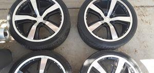 21 inch rims w/ Pirelli Pzero tires for Sale in Hereford, AZ