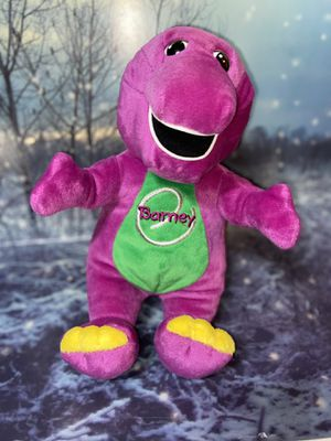 "2000 BARNEY eSPECIALLY My Barney Playskool TALKING SINGING Plush PC Interactive 13"" for Sale in Paramount, CA"