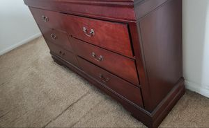 Queen bedroom set with mattress for Sale in Houston, TX