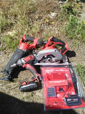 Milwaukee m18 power tools for Sale in Seattle, WA