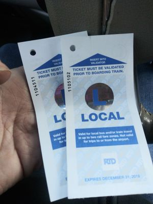 2 books of 10 bus tickets for Sale in Lakewood, CO