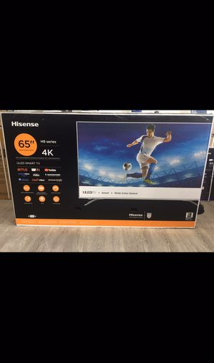 65 INCH HISENSE H9 PLUS 4K SMART TV 📺 for Sale in Chino, CA