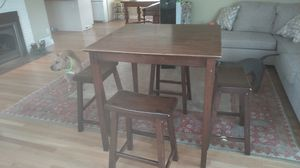 High kitchen table for Sale in Everett, WA