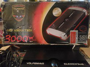 Volfenhag element car audio amplifier for Sale in Los Angeles, CA