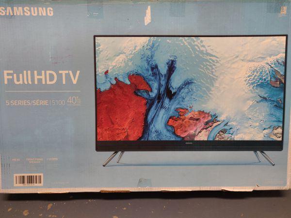 "Samsung Full HD TV, 40"" 5 Series Rarely Used"