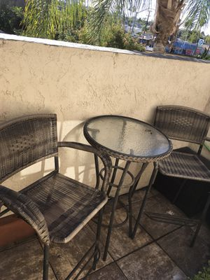 Three piece patio furniture for Sale in San Diego, CA