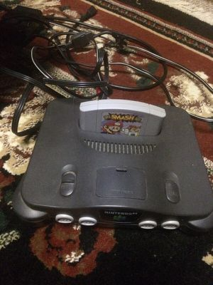 N64 can come with controllers for Sale in Chantilly, VA
