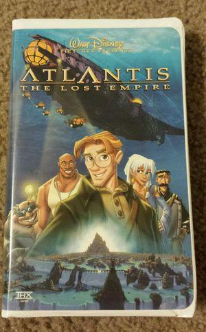 WALT DISNEY ATLANTIS THE LOST EMPIRE VHS. for Sale in Mesa, AZ