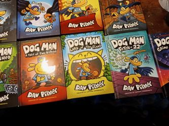 First Nine Dog Man Books for Sale in Crewe,  VA