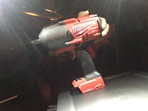"""Milwaukee fuel 1/2"""" impact wrench for Sale in West Valley City, UT"""
