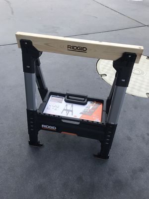Adjustable ridgid sawhorses for Sale in San Diego, CA
