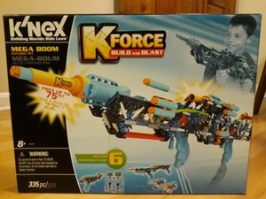 K'Nex K-Force Mega Boom Nerf Gun for Sale in Herndon, VA