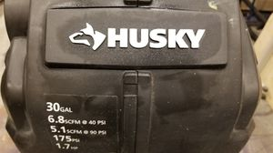 Husky 30gal Compressor for Sale in Seattle, WA