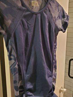 Athleta Blue Camo Athletic Shirt for Sale in Washington,  DC