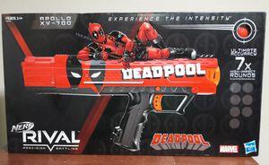 Deadpool Nerf Rival Marvel Comics Toy Gun for Sale in Marietta, GA