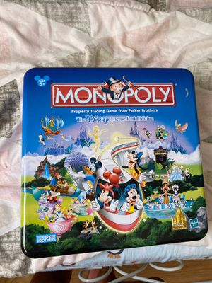Monopoly Disney's theme park for Sale in Sacramento, CA