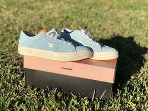 Baby blue Golf le fleurs x Converse One Sneakers for Sale in Orlando, FL
