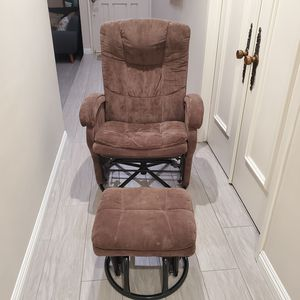 Rocking chair/ glider with ottoman for Sale in Cerritos, CA