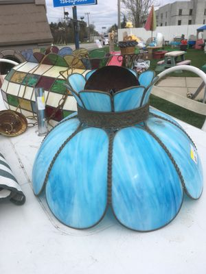 Stained glass hanging light for Sale in Jeannette, PA