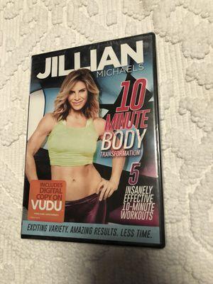 Jillian Michaels 10 Minute Body for Sale in Missoula, MT