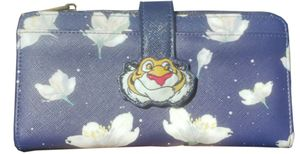 Loungefly Disney Aladdin Jasmine's Tiger Raja Starry Night Floral Clutch Wallet for Sale in Ontario, CA
