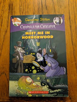 Creepella Von cacklefur book for kids and toddler scholastic for Sale in Los Angeles, CA