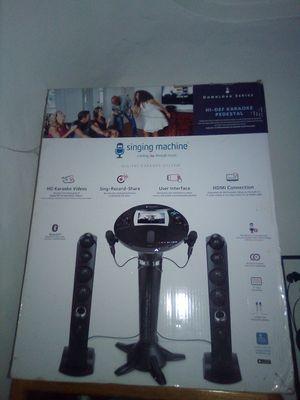 Singing machine brand new for Sale in Montebello, CA