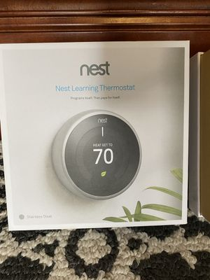 Nest thermostat 3rd Gen for Sale in Odenton, MD