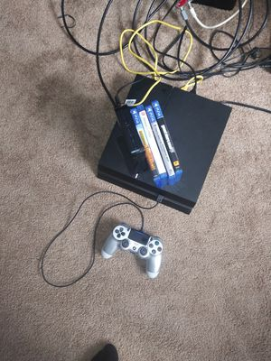 PS4&4 games (DIVISION 2,RAINBOW 6 Seige,PUBG&GTA5 PLUS CONTROLLER for Sale in Nashville, TN