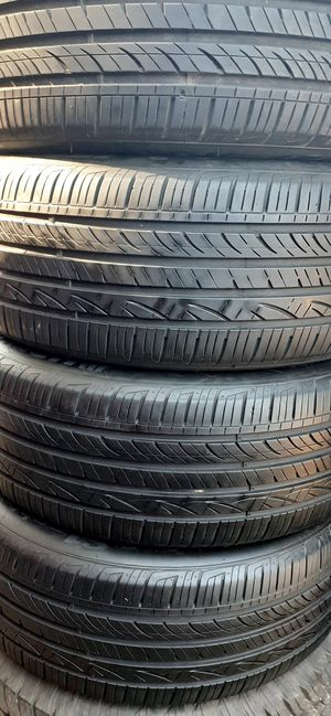 4 TIRES 255/50 R20 HANKOOK VENTUS S1 NOBLE2 USED for Sale in Sacramento, CA