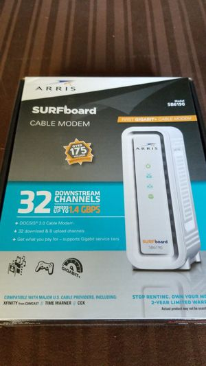 Motorola SURFboard 6190 cable modem for Sale in Tucker, GA