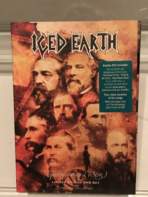 CDs of Heavy Metal Band Iced Earth music for Sale in Seymour, CT