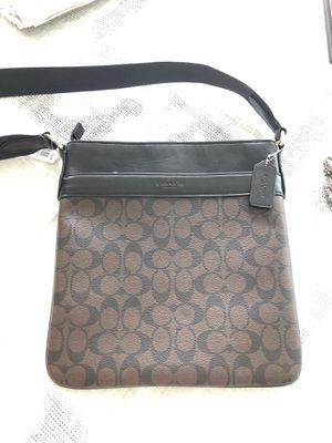 New Coach messenger bag brown for Sale in Santa Monica, CA