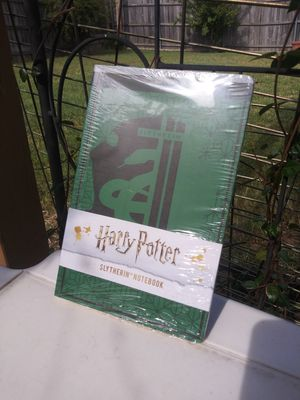 Harry Potter Limited Edition Slytherin Notebook for Sale in Benbrook, TX