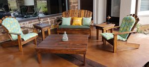 Outdoor Wooden Adirondacks/Patio/Firepit Furniture for Sale in Austin, TX