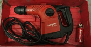 Hilti TE 16-C Hammer drill & 15 bits for Sale in Sacramento, CA