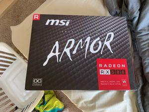 Graphics Card( Msi Radeon RX580)retail $209 for Sale in Hercules, CA