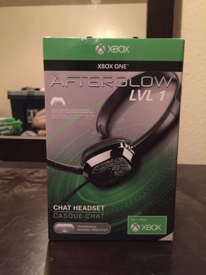 Afterglow headset Xbox one for Sale in Clovis, CA