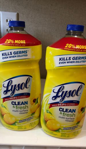 Lysol Clean and Fresh Lemon 🍋 Scent for Sale in Brogden, NC